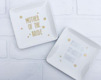 Custom Ceramic Trinket Dishes, Buffalo Trinket Dish, Ceramic Jewelry Dish, Gift for Her, Wedding Gift, Shower Gift