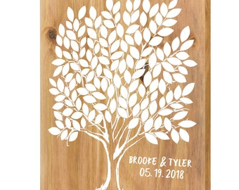 Wedding Tree Guest Book, Guest Book Tree, Tree Leaf Guest Book, Leaf Guest Book, Tree Wedding Guest Book, Tree Guestbook, Wood Guestbook
