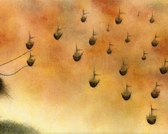 These With A Thousand Small Intentions - fine art reproduction
