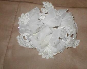 Vintage 1950's Bridal Headpiece