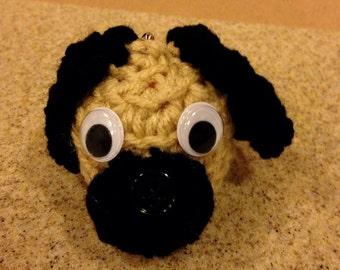 Crochet EOS Lip Balm Holder Key Chain