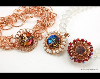Calypso Clasp and Findings Braided Wire - Instant Download Wire Jewelry Tutorial Instruction