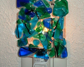 Confetti Night light - Blues