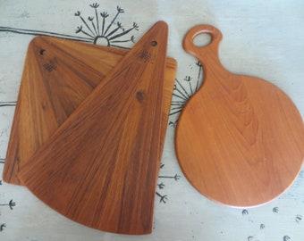 Dansk Teak Cutting Board Danish Modern Design Wood Cutting Board
