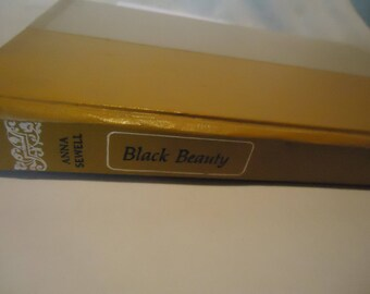 Vintage 1954 Black Beauty The Autobiography Of A Horse by Anna Sewell Children's Hardback Book, collectable