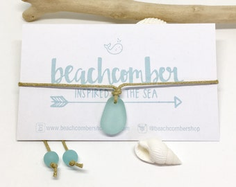 sea glass jewelry, eco friendly beach anklet