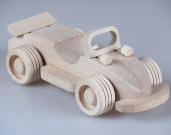 Wood Toy Car, Baby Toy, Boys Wooden Toy, Plain Wood, Gift For Kids, Children's Toys, Gift for Boy, Handmade Wooden Toy, Eco Friendly Toy