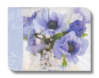 Floral paper napkin for decoupage x 1 Le Desirable . No 1277