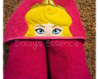 Princess Aurora Hooded Towel