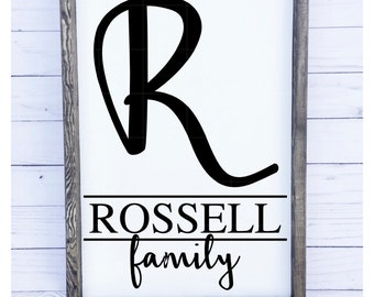 The Family Name Sign
