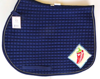 Be On Fire! All Purpose Saddle Pad for Eventing and Jumping Saddles HA-84