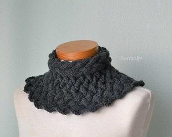 BRUNHILDE, Knitting collar pattern pdf