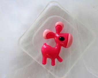 pretty pink horse resin scrapbooking