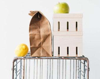 Berry Box // Wood Berry Box Replica