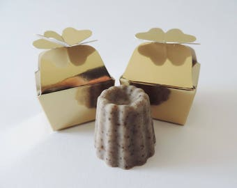SOAP mini canelé - for a table decoration or to yourself!
