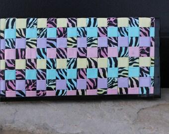 Woven Zebra Women's Wallet