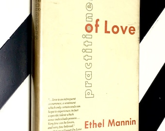 Practitioners of Love by Ethel Mannin (1969) hardcover book