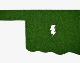 OK Bolt Synthetic Grass Doormat | Rug | Wall Art Decor