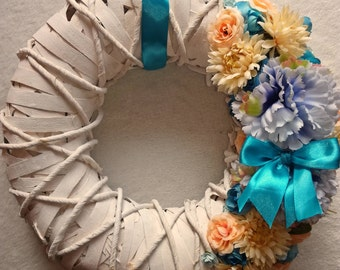 Spring wreaths, Beautiful wreaths, Front door wreaths, Summer wreath, Kranze Mother's day wreaths, dörr krans, Türkranz, Gift for her