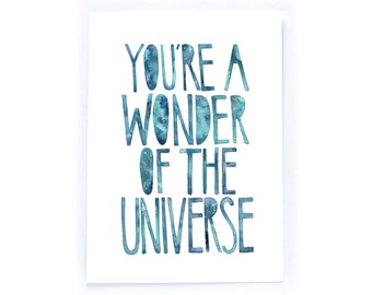 Wonder of the Universe - archival art print
