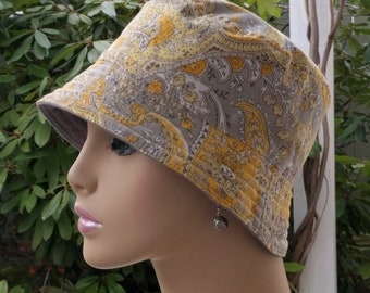 Chemo Hat Bucket Hat Cancer Hat Made in the USA  MEDIUM