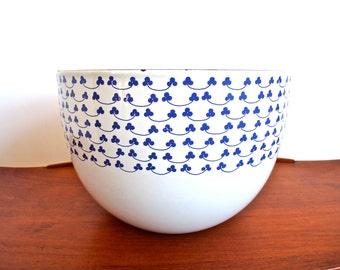 Vintage Kaj Franck Enamel Clover Bowl for Finel Finland