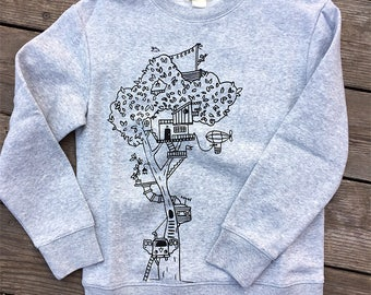Treehouse sweatshirt