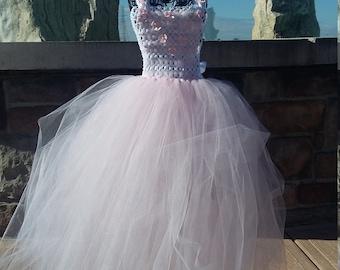 Blush Tutu Dress