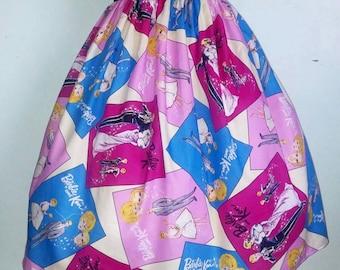 Retro Ken and Barbie skirt