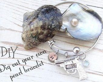 Dig out your own pearl kit, Dig out a pearl, pearl necklace, pick a pearl, valentines gift