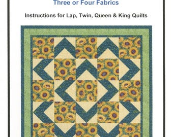 Walk About Quilt Pattern by Ann Lauer of Grizzly Gulch Gallery