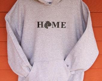 MDI HOME SweatShirt  - Sport Gray Adult Sizes 2XL/3XL