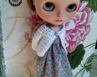 Blythe Doll Spring Dress and Sweater Set