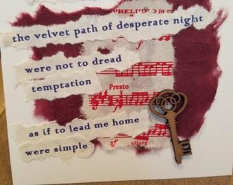 Poetry Art Card #13