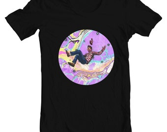 Waldo T-shirt - Lost In Limbo - BL Visuals X Black Ink Collaboration Tee