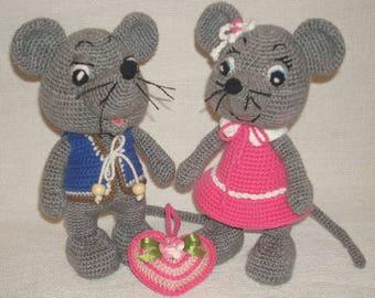 Crochet pattern Mousekins