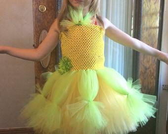 Princess Tiana Inspired Tutu Dress