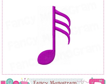 Musical Notes embroidery,Musical Notes,Musical Notes design,Birthday embroidery,Band design.-05