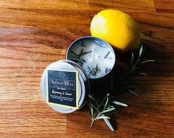Rosemary & Lemon Soy Candle