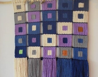 Hand woven wall tapestry, Wall Tapestry, wooven tapestry
