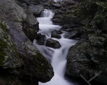 Bash Bish Falls, Berkshires / Taconic Mountains, Massachusetts - Columbia County, New York