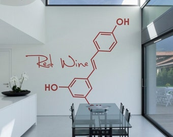 Party Molecules - 1 Large - Vinyl Wall Decal