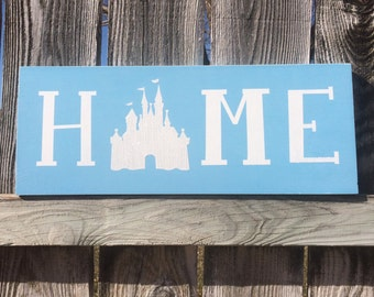 The Orignial** Disney Home Sign Hand Painted Disney Decor