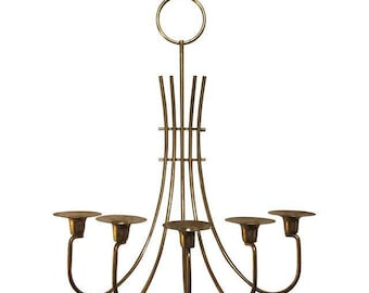 Tommi Parzinger Mid-Century Modern Candle Sconce