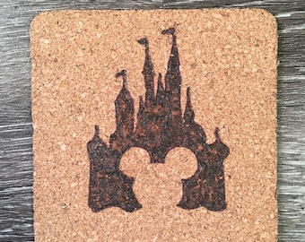 4 Inch Castle Coasters- Set of 3