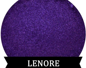 Purple Eyeshadow LENORE Mineral makeup