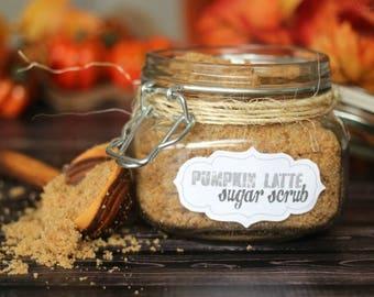 Pumpkin Latte Sugar Scrub