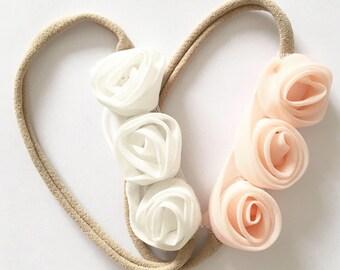 Chiffon Rosette Headband
