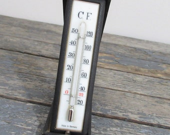 Vintage Thermometer, Travel Thermometer, Travel Gift, Desk Thermometer,  Office Accessory
