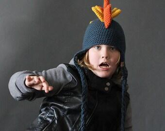 Crochet PATTERN Dinosaur Hat Crochet Hat Pattern for Babies, Children, Teen, Men and Women